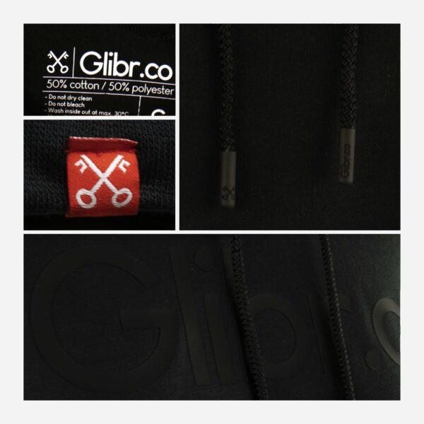 Glibr.co - Hoodie Glibr.co Black Edition