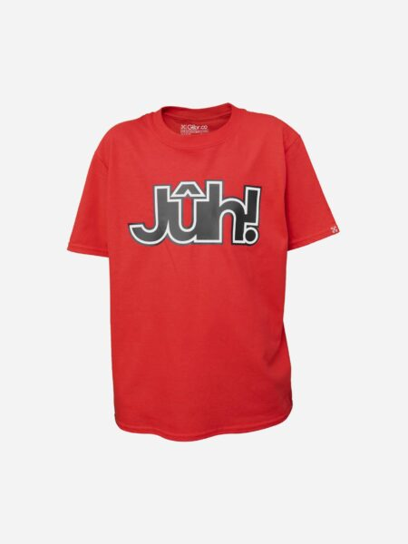 Glibr.co - T-shirt RED Jûh! KIDS